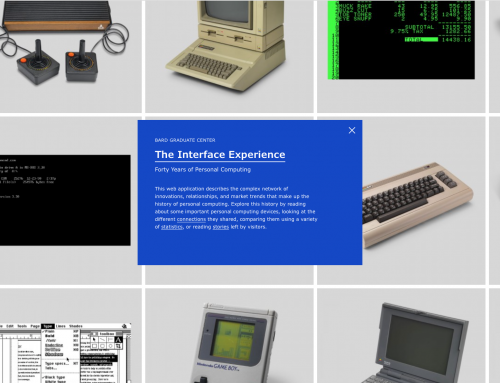 The Interface Experience: Web Application