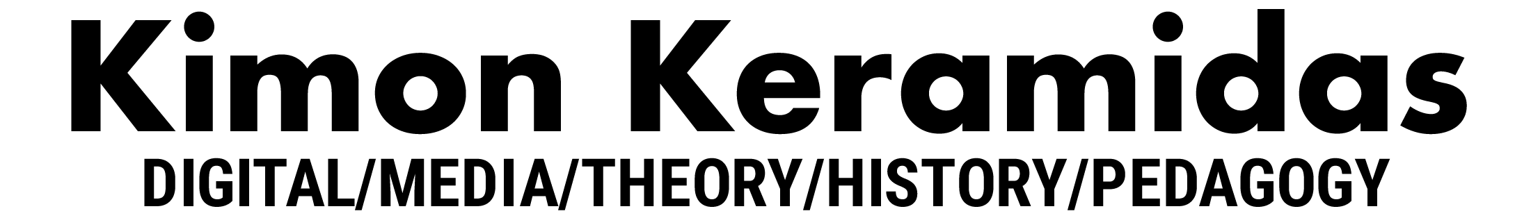 Kimon Keramidas Retina Logo